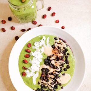 Green Power Smoothie- Bowl