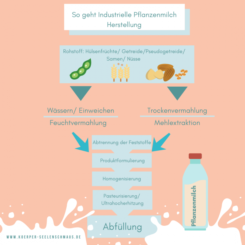 So geht Industrielle Pflanzenmilch Herstellung (2)