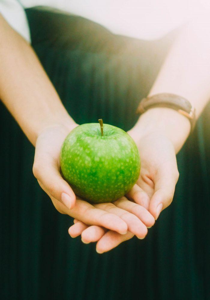 Gesundheit in den Händen halten